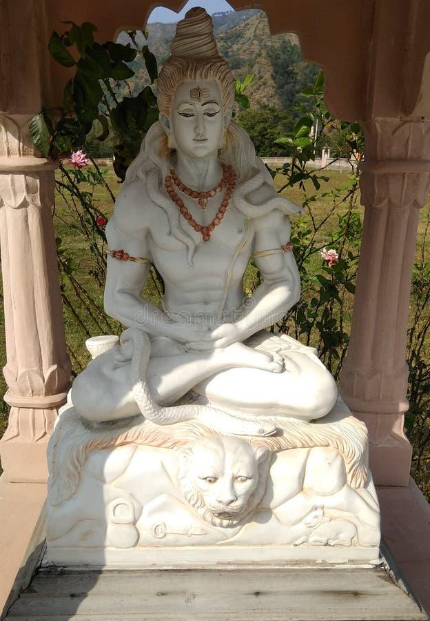 Bóg Shiva obrazy royalty free
