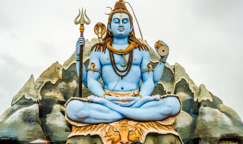 Bóg Shiva obraz stock