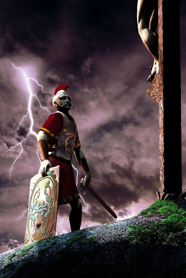 bóg syn royalty ilustracja