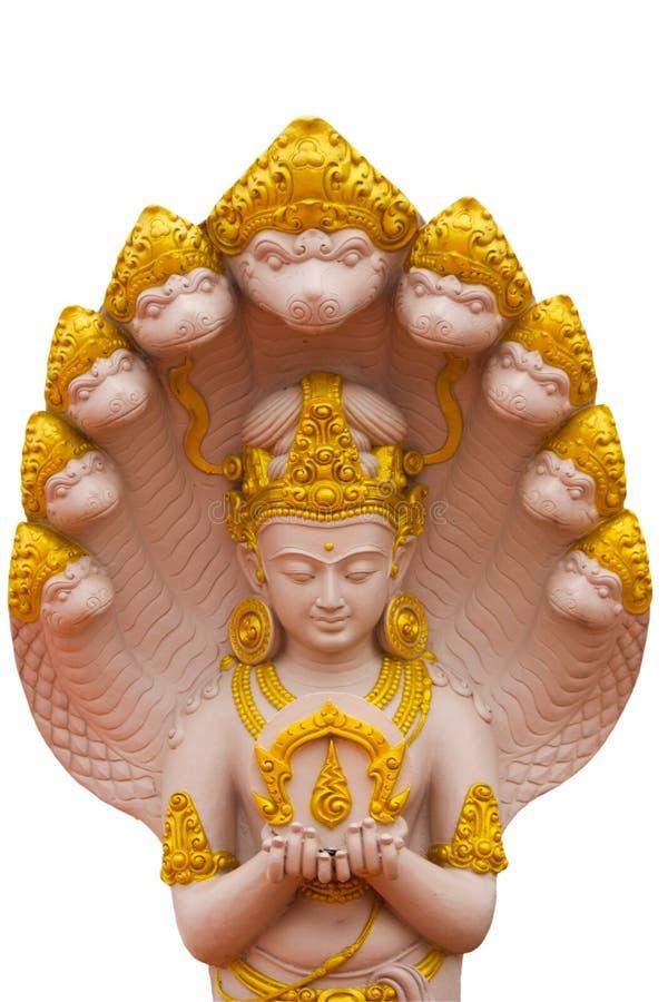 Bóg Wizerunku Naga Obrazy Royalty Free