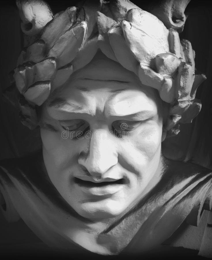 Bóg Zeus obraz stock