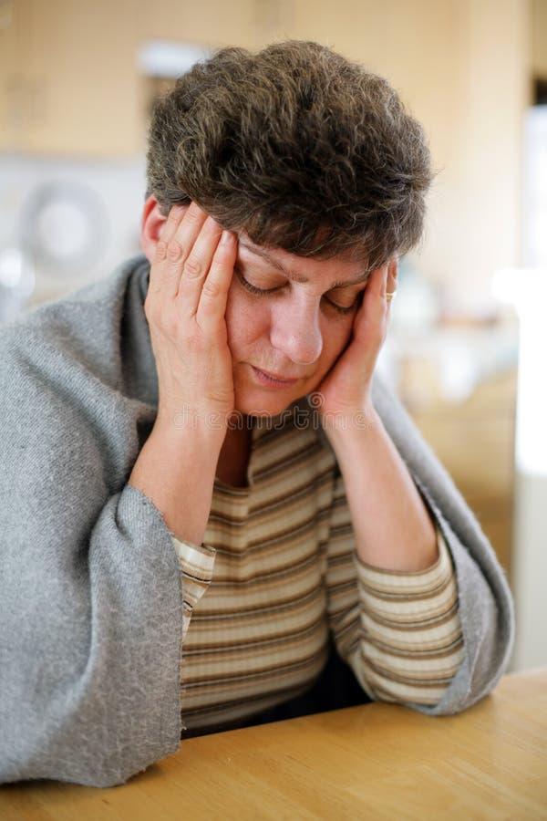 ból głowy. zdjęcie royalty free