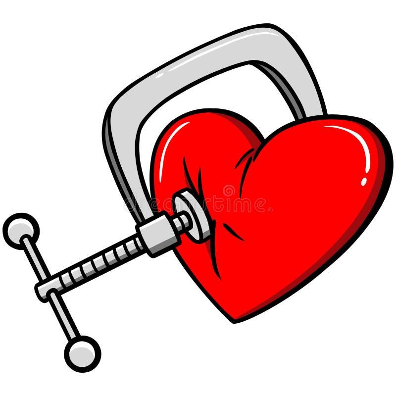 Download Ból klatki piersiowej ilustracja wektor. Ilustracja złożonej z piękno - 53787622