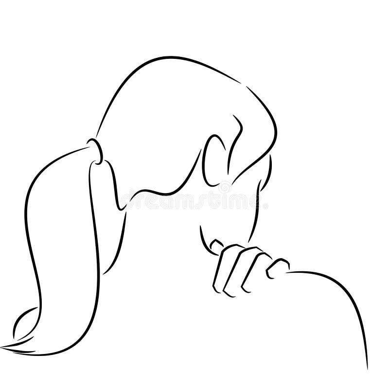 ból pleców ilustracji