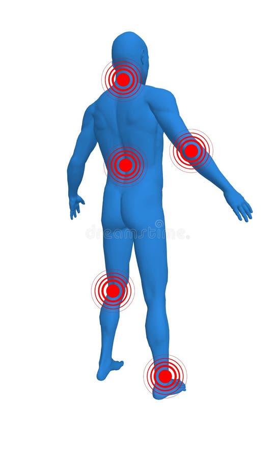 bólowi punkty ilustracji