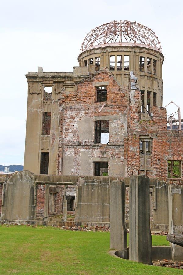 Bóveda atómica en Hiroshima fotos de archivo