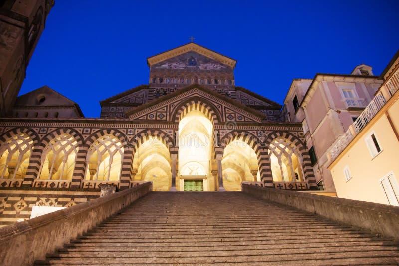 Bóveda de Amalfi, Italia fotos de archivo libres de regalías