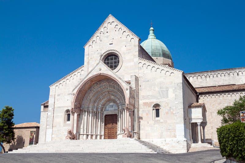 Bóveda de Ancona fotos de archivo libres de regalías