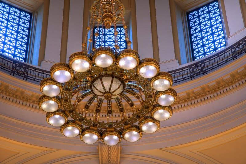 Bóveda de capital (interior) fotografía de archivo