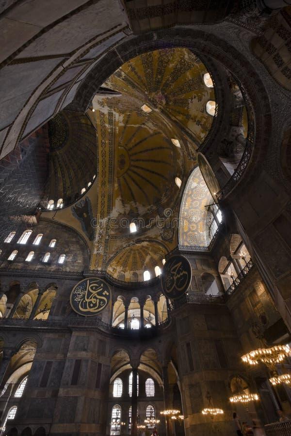 Bóveda de Hagia Sophia fotos de archivo