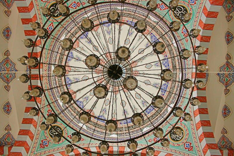 Bóveda de la mezquita fotos de archivo