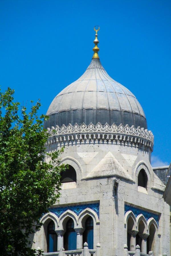 Bóveda de la mezquita en Estambul, Turquía foto de archivo