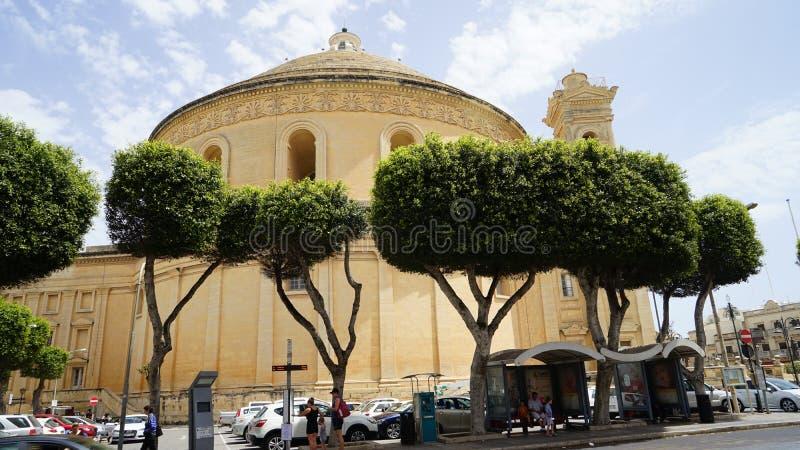 Bóveda de Mosta, Malta foto de archivo libre de regalías