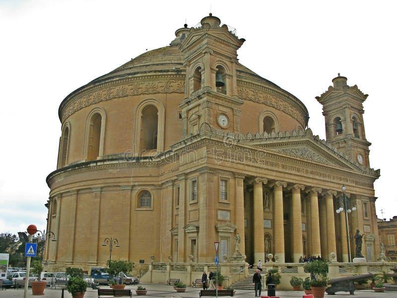Bóveda de Mosta, Malta fotografía de archivo libre de regalías
