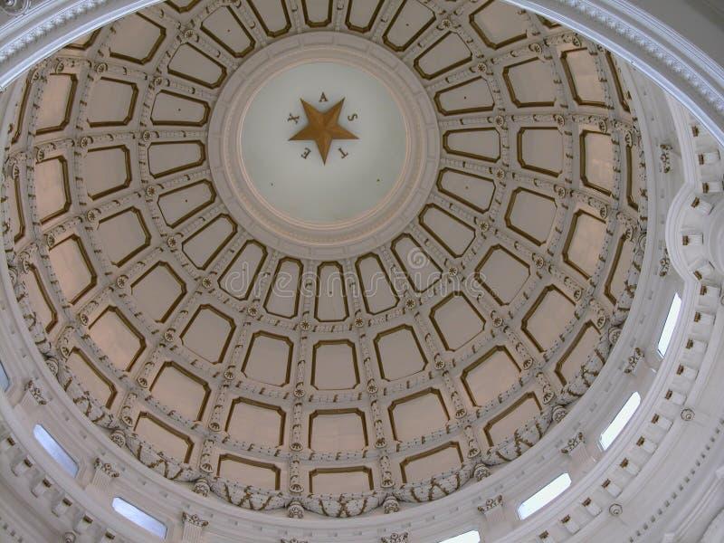 Bóveda del capitolio de Austin imagenes de archivo