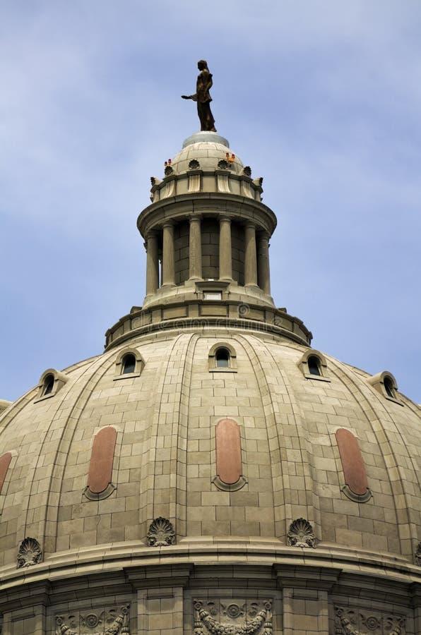 Bóveda del capitolio del estado de Missouri imagen de archivo