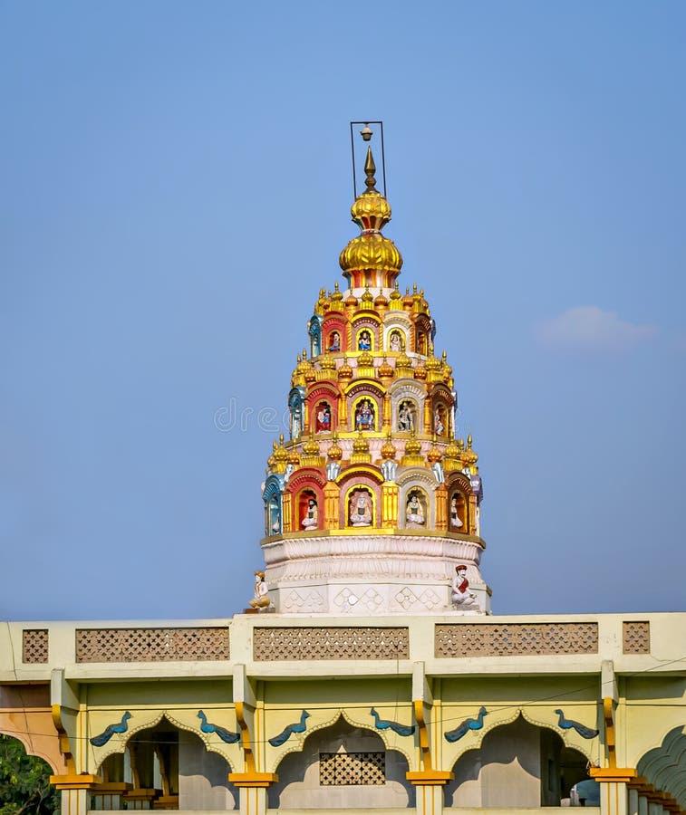 Bóveda del templo de la India fotografía de archivo libre de regalías