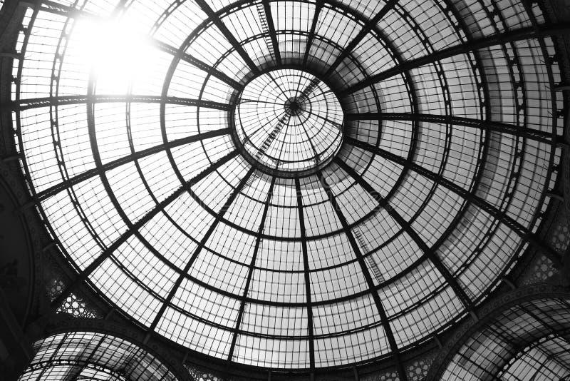Bóveda en Milano imágenes de archivo libres de regalías