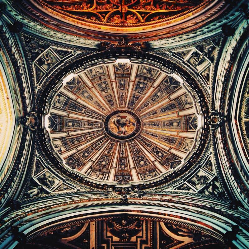 Bóveda española foto de archivo