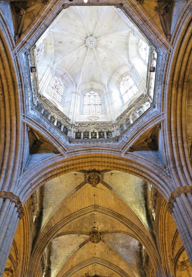 Bóveda gótica fotos de archivo