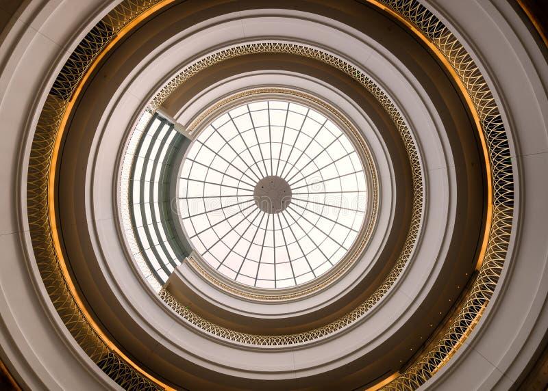 Bóveda interna de centro judicial de Colorado fotografía de archivo libre de regalías