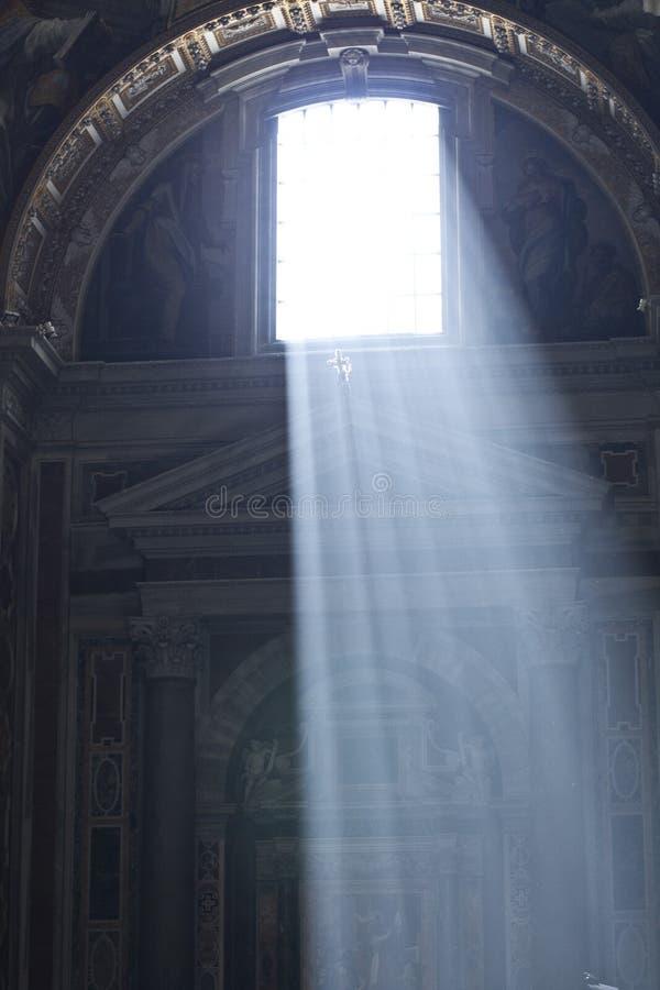 Bóveda ligera Italia de los peters de la ventana imagen de archivo libre de regalías