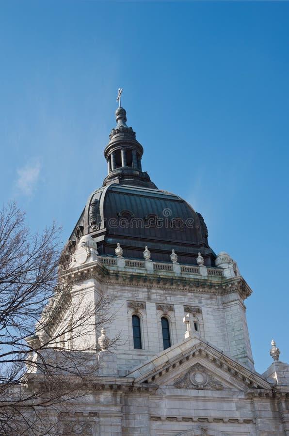 Bóveda y cúpula de la basílica fotografía de archivo libre de regalías