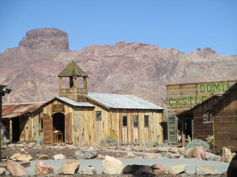 Bóveda Yuma Arizona del castillo foto de archivo