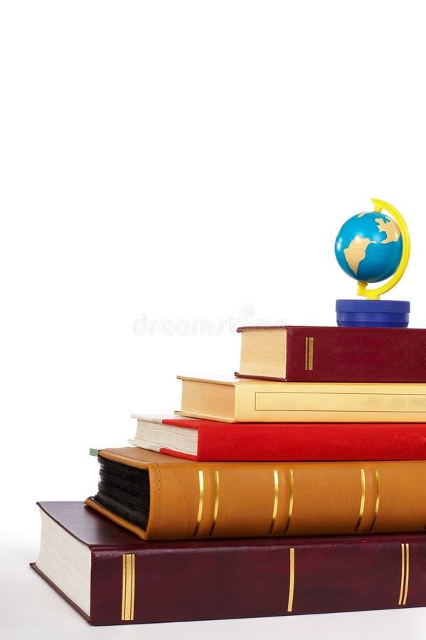 böcker royaltyfri foto