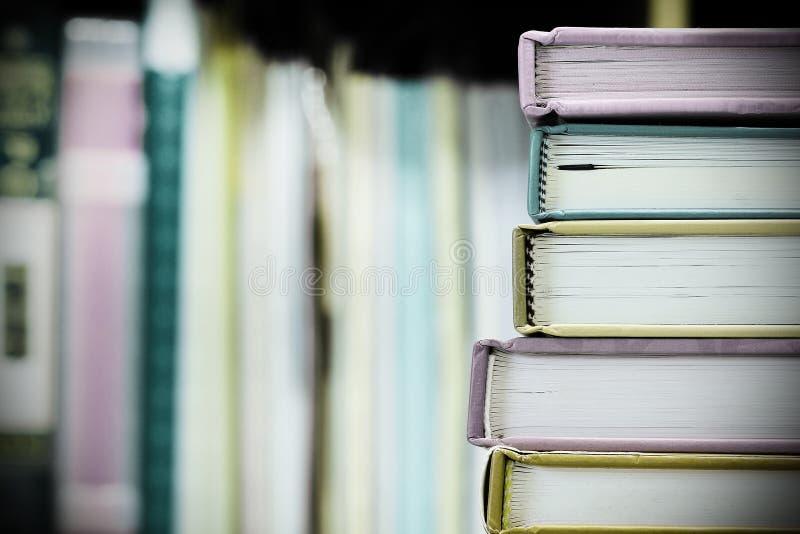 Böcker royaltyfria foton