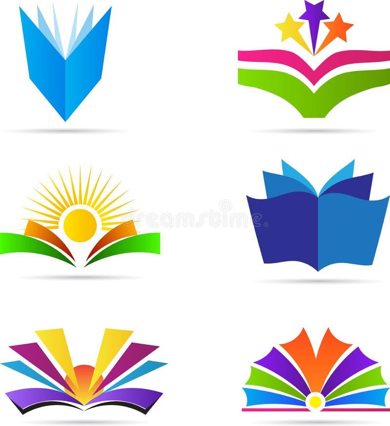 Böcker vektor illustrationer