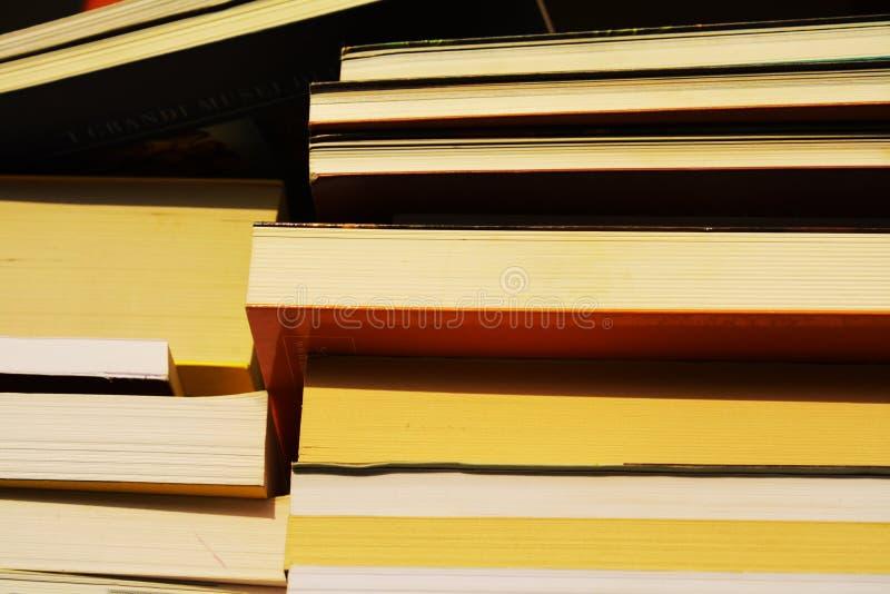 Böcker som ska läsas royaltyfria foton