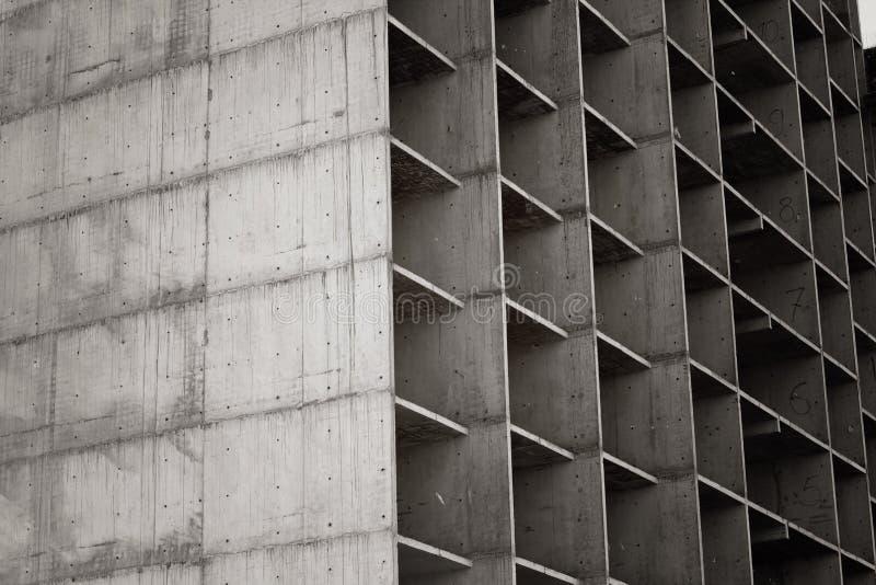Böden des im Bau mehrstöckigen Gebäudes lizenzfreie stockfotos