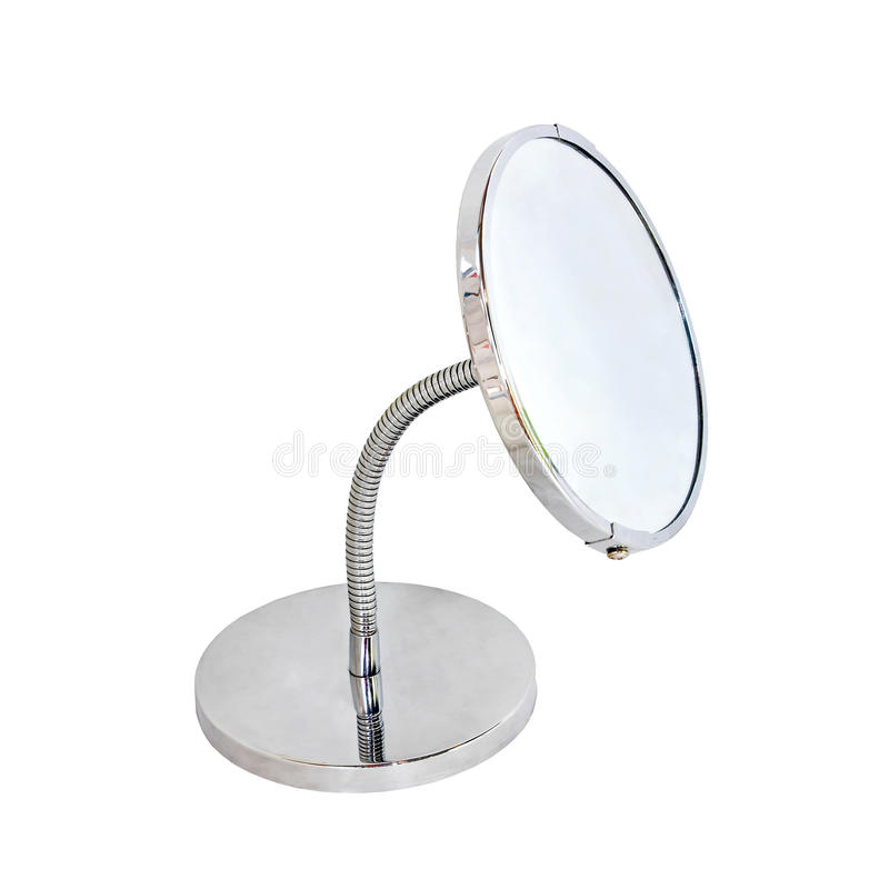 böjlig spegel royaltyfri bild