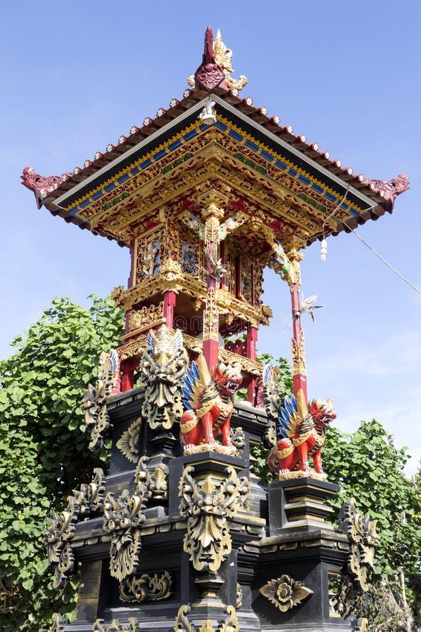 Bön rika Hindus, Nusa Penida-Bali, Indonesien royaltyfri foto