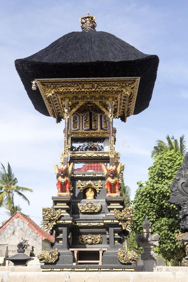 Bön rika Hindus, Nusa Penida-Bali, Indonesien royaltyfri fotografi
