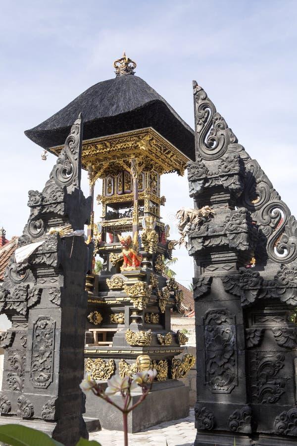 Bön rika Hindus, Nusa Penida-Bali, Indonesien royaltyfria foton