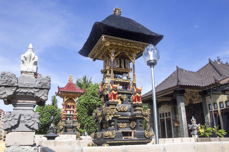 Bön rika Hindus, Nusa Penida-Bali, Indonesien royaltyfri bild
