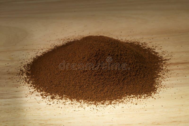 bönacoffegrind arkivfoto