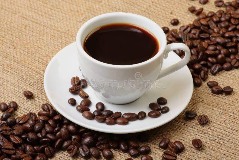 bönakaffeespresso arkivbilder