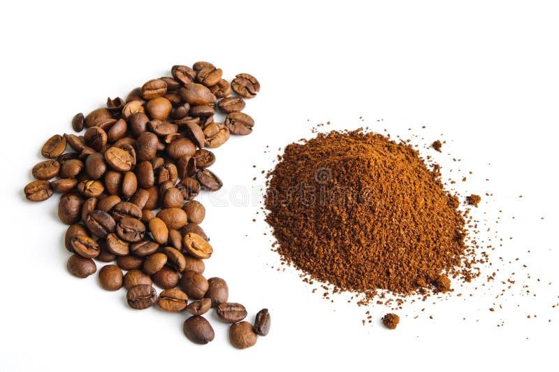 bönakaffejordning arkivfoton