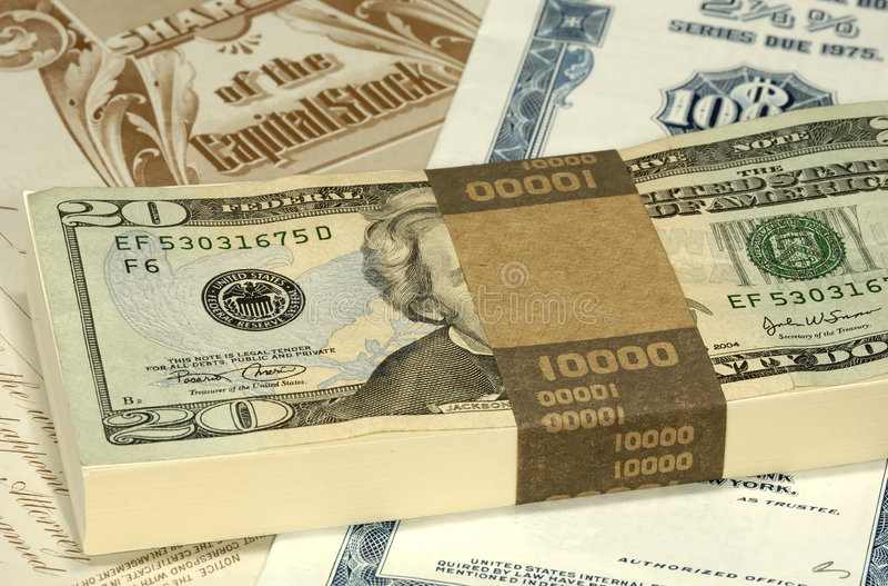 Börse lizenzfreies stockbild