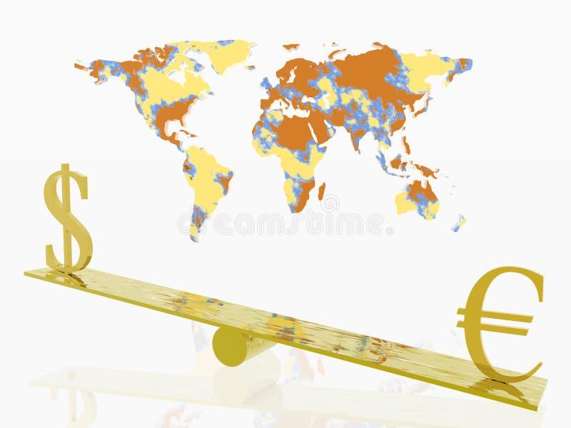 Börse. lizenzfreie abbildung