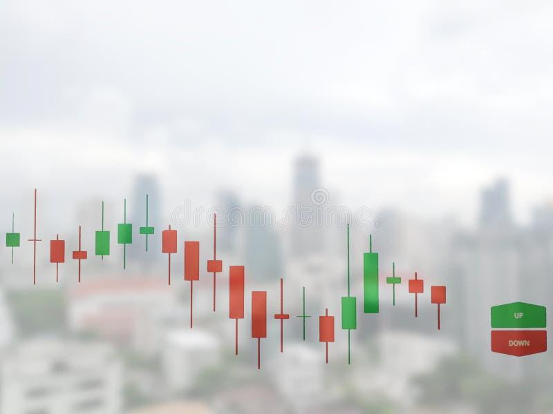 Börse auf der Weichzeichnung, abstrakt im Hintergrund, lizenzfreie stockfotos