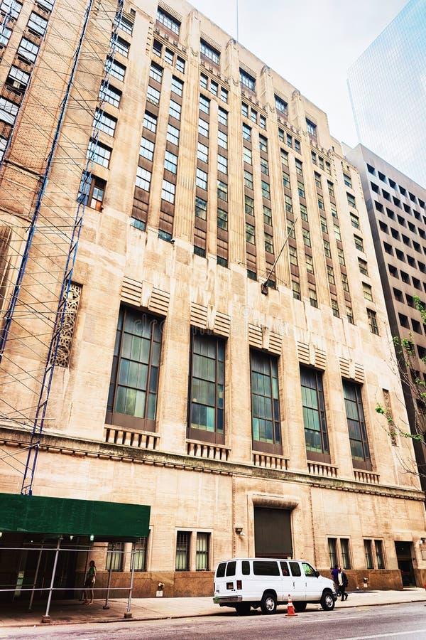 Börse auf Wall Street des Lower Manhattan lizenzfreies stockbild