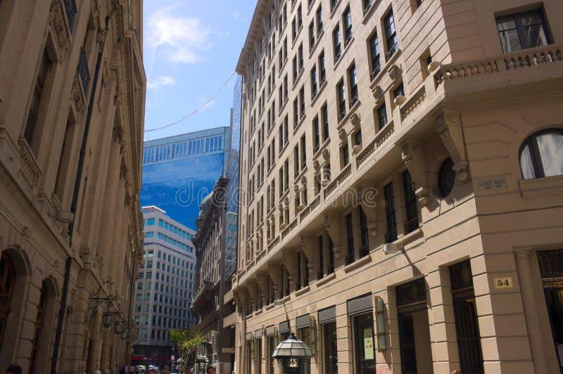 Börsebezirk - Santiago - ich - Chile lizenzfreie stockbilder