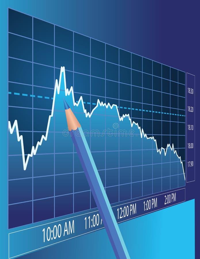 Börseenanalyse stock abbildung