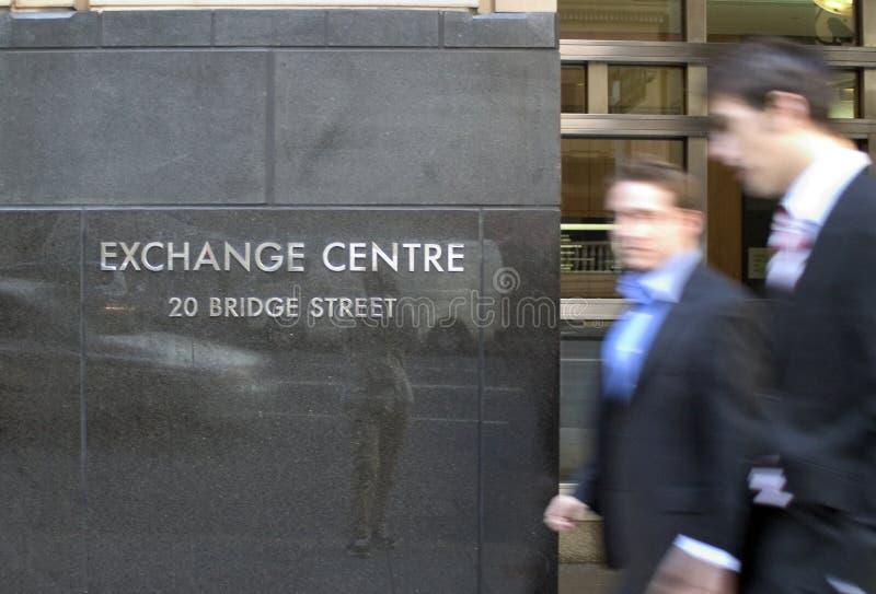 Börsenmakler stockfoto