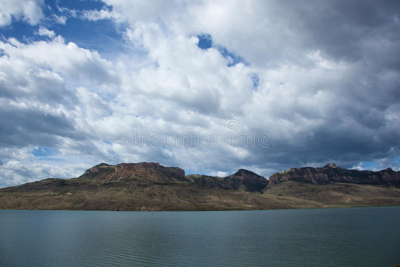 Búfalo Bill Reservoir fotografia de stock royalty free