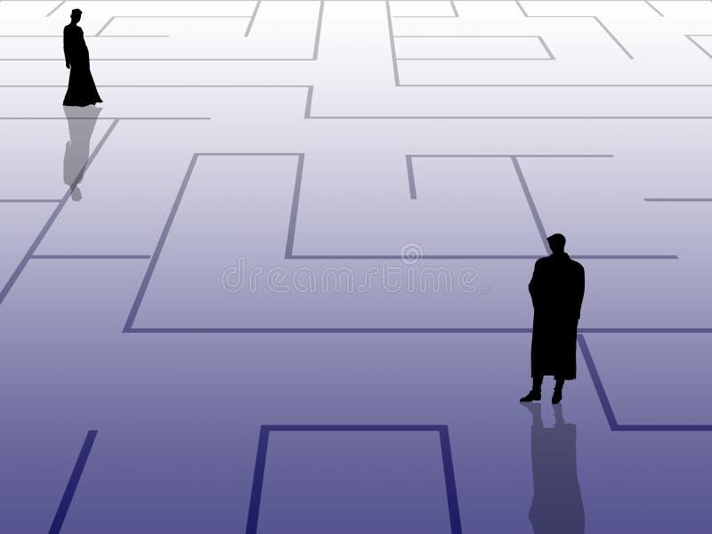 Búsqueda ilustración del vector